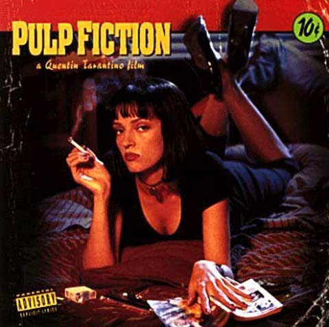 pulp fiction film cover