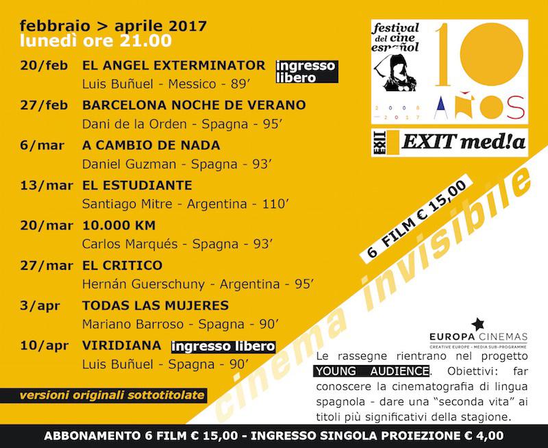 Festival del cinema spagnolo a Padova!