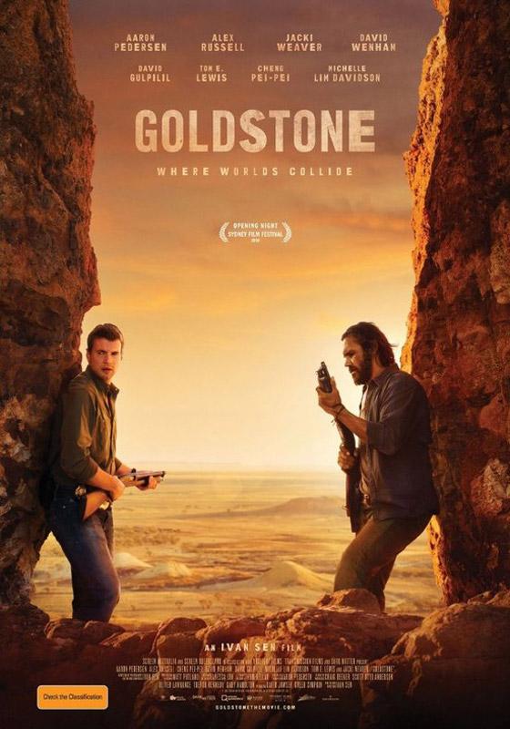 GOLDSTONE. DOVE I MONDI SI SCONTRANO – Ivan Sen # Australia 2016 (110′) *VOS