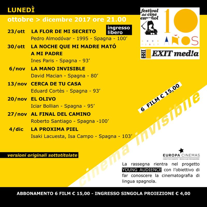 2° Festival del Cinema Spagnolo a Padova