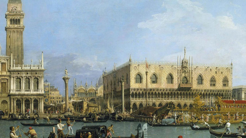 Canaletto a Venezia