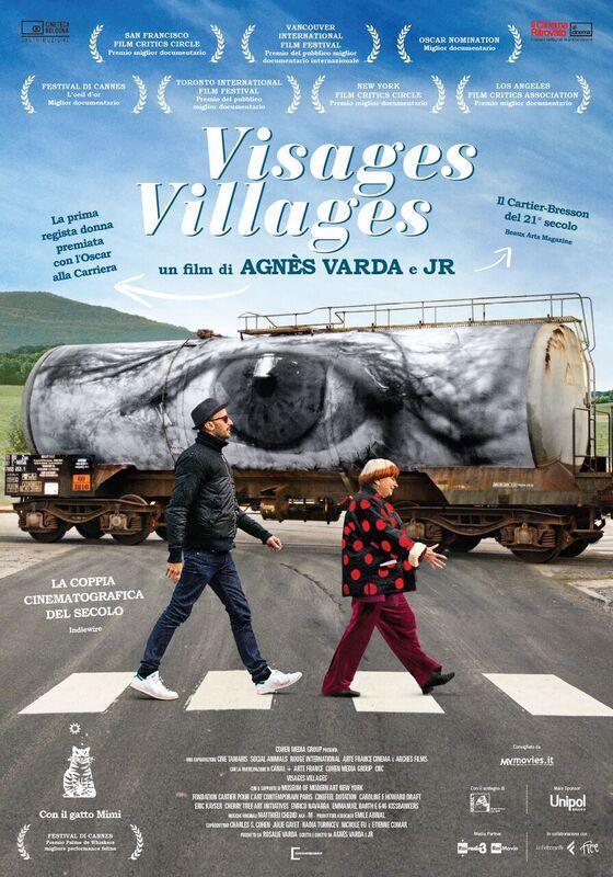 VISAGES, VILLAGES – Agnès Varda, JR # Francia 2016 (90′)