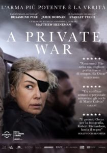 A PRIVATE WAR *VOS - Matthew Heineman # USA 2018 [1h 46']