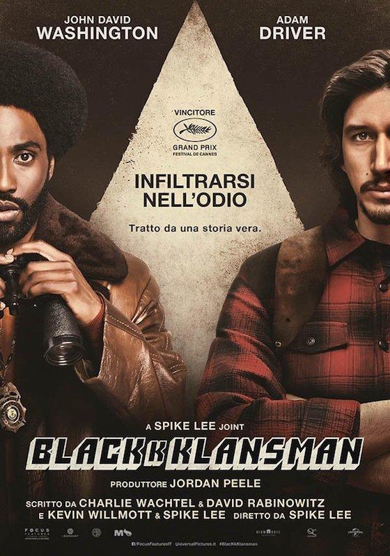 BLACKKKLANSMAN – Spike Lee # USA 2018 [2h 8′]