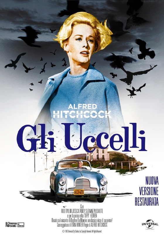 GLI UCCELLI *VOS – Alfred Hitchcock  # USA 1963 [2h]