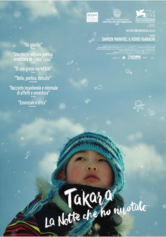 TAKARA. LA NOTTE CHE HO NUOTATO – D. Manivel e I. Kohei # Fra/Giap 2017 [1h 19′]