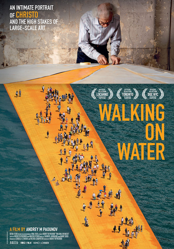 CHRISTO – WALKING ON WATER – Andrey Paounov # USA/Italia 2018 (105′)