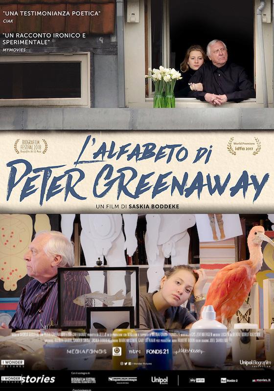 L'ALFABETO DI PETER GREENAWAY – Saskia Boddeke # Olanda 2017 (68′)