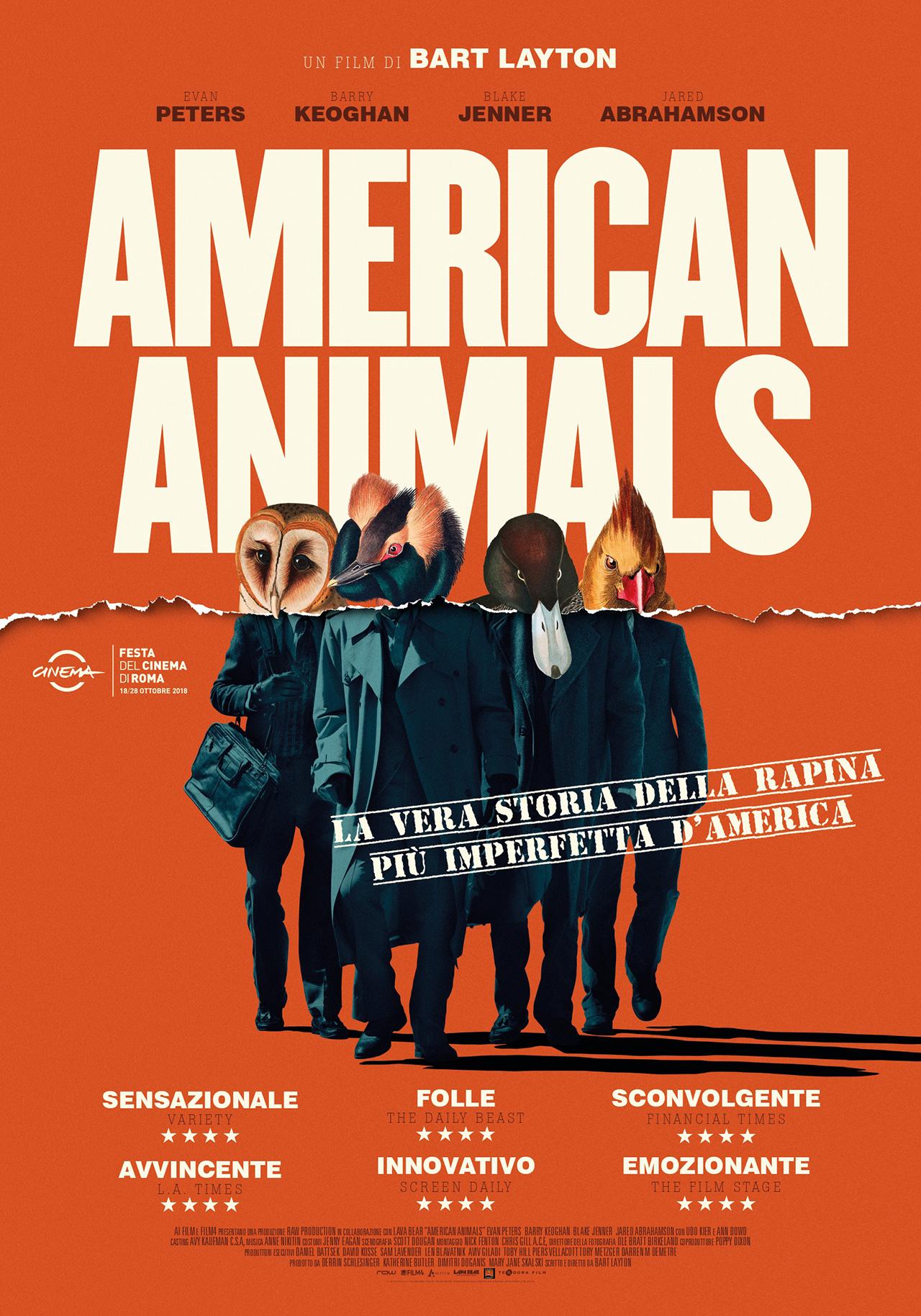 AMERICAN ANIMALS – Bart Layton # USA 2018 (116′)