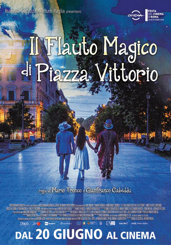 IL FLAUTO MAGICO DI PIAZZA VITTORIO – M.Tronco e G.Cabiddu # Italia/Francia 2018 (83′)