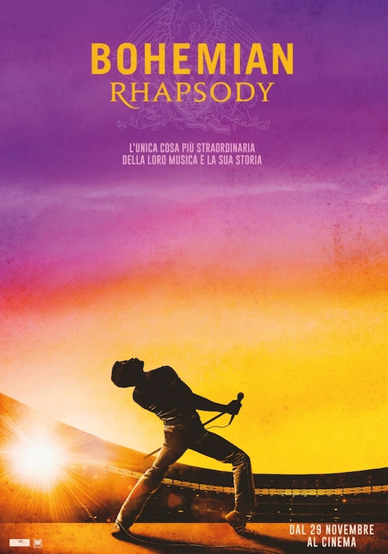 BOHEMIAN RHAPSODY – Bryan Singer # Gran Bretagna/USA 2018 (134′)