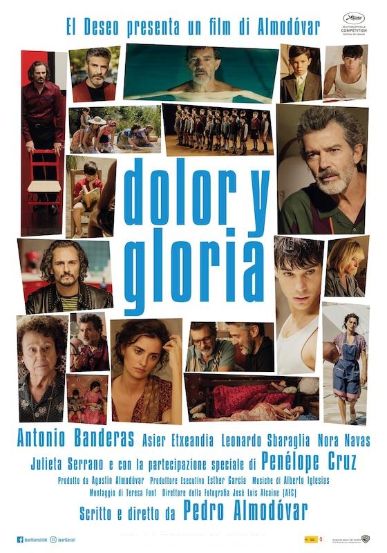 DOLOR Y GLORIA – Pedro Almodóvar # Spagna 2019 (113′)