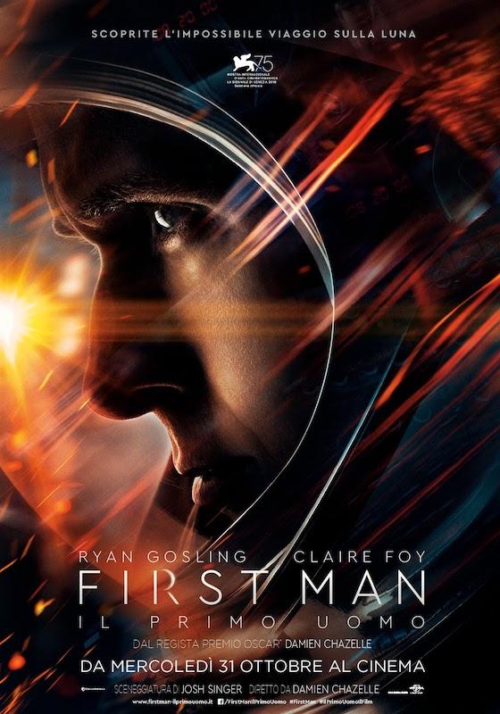 FIRST MAN. IL PRIMO UOMO – Damien Chazelle # USA 2018 (141′)