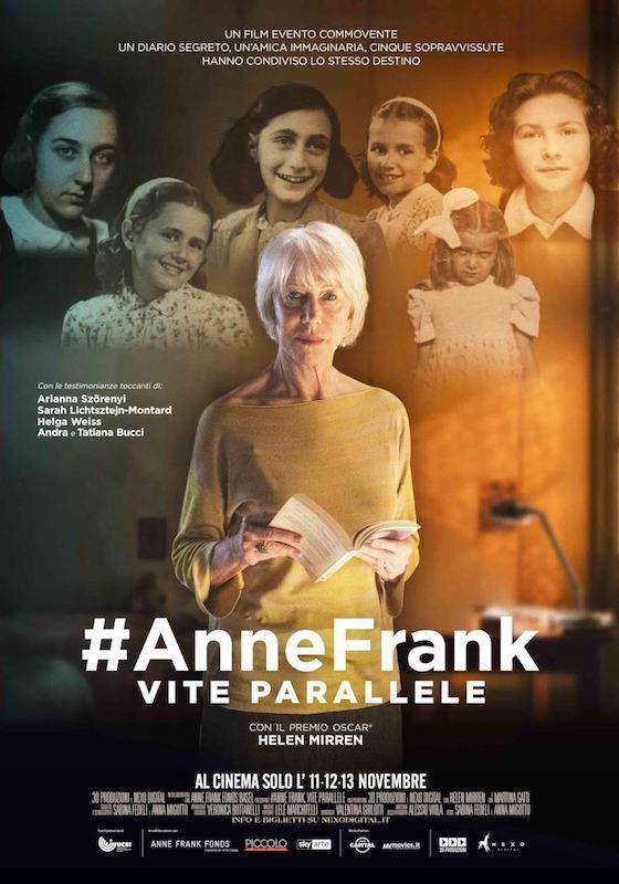 #ANNEFRANK. VITE PARALLELE – S. Fedeli, A. Migotto # Italia 2019 (95′)