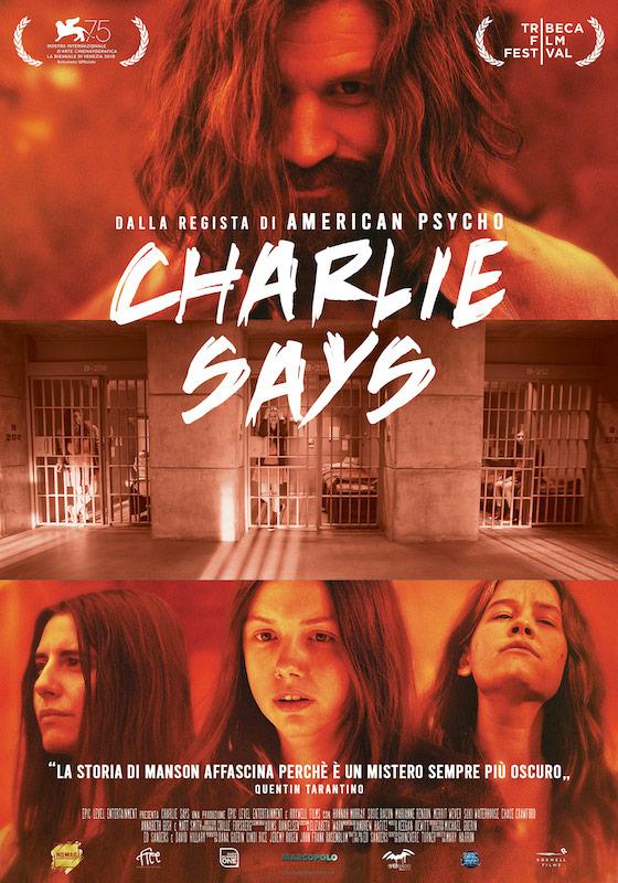 CHARLIE SAYS – Mary Harron # Usa 2018 (104′)