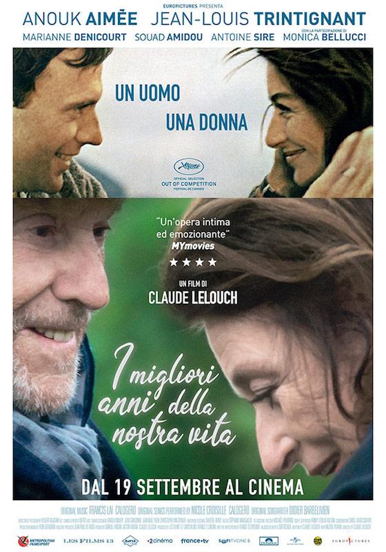 I MIGLIORI ANNI DELLA NOSTRA VITA – Claude Lelouch # Francia 2019  (90′)
