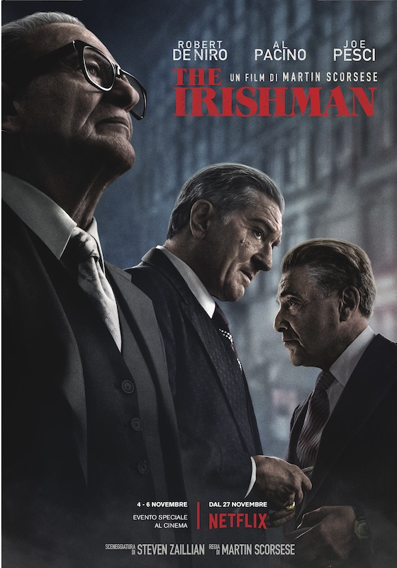 THE IRISHMAN – Martin Scorsese # USA 2019 (209′)