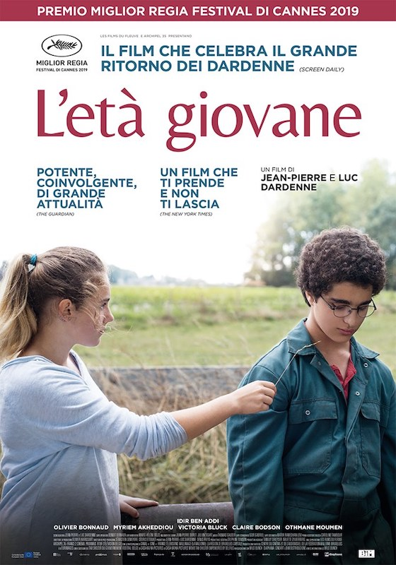 L'ETÀ GIOVANE – Jean-Pierre e Luc Dardenne – Belgio 2019 (84′)