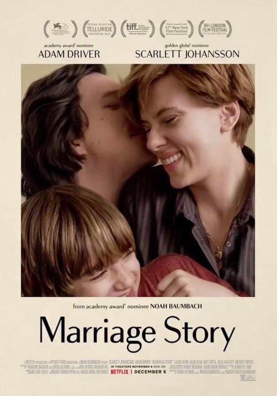 MARRIAGE STORY – Noah Baumbach # USA 2019 (136′)