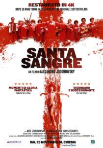 SANTA SANGRE - Alejandro Jodorowski # Messico/Italia 1989 (110')