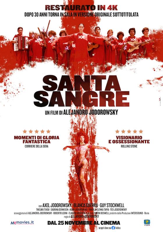SANTA SANGRE – Alejandro Jodorowsky # Messico/Italia 1989 (110′)