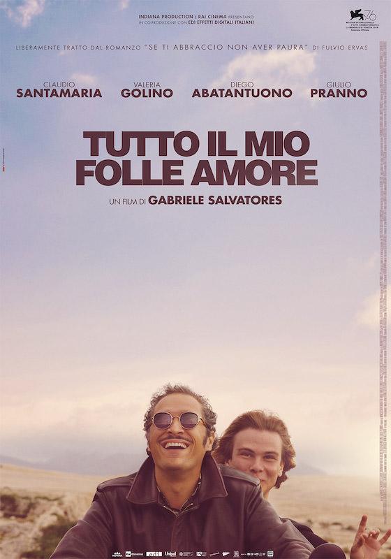 TUTTO IL MIO FOLLE AMORE – Gabriele Salvatores # Italia 2019 (97′)