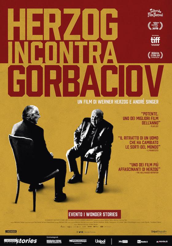 HERZOG INCONTRA GORBACIOV – W.Herzog, A. Singer # Ger/UK/USA 2018 (90') *VOS
