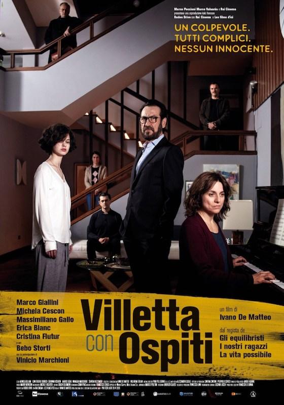 VILLETTA CON OSPITI – Ivano De Matteo # Italia 2019 (88′)