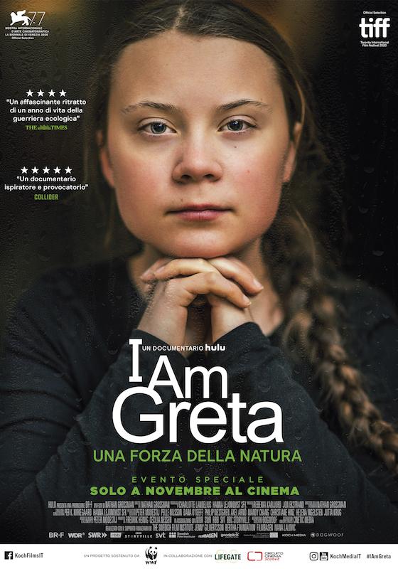 I AM GRETA. UNA FORZA DELLA NATURA – Nathan Grossman # Svezia 2020 (98′)
