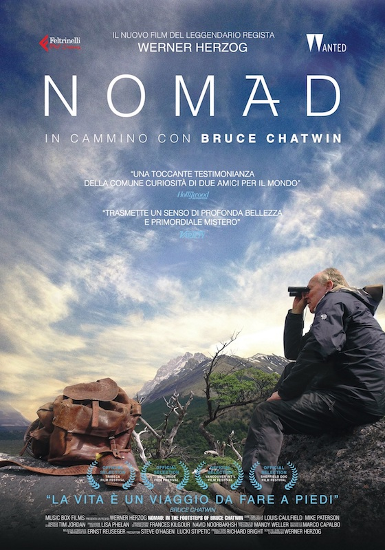 NOMAD – IN CAMMINO CON BRUCE CHATWIN – Werner Herzog # Regno Unito, 2019 (85′) *VOS