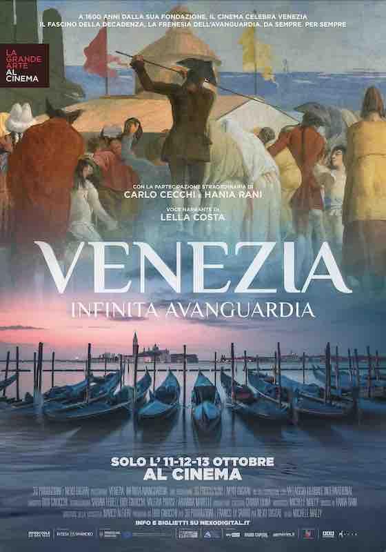 VENEZIA. INFINITA AVANGUARDIA – Michele Mally # Italia 2021 (90′)